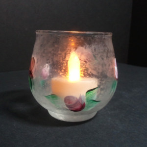 etchall etching cream candle holder