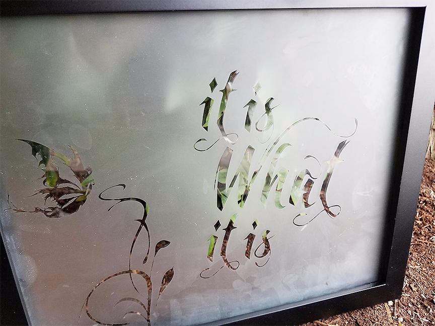 """""""It Is What It Is"""" Fairy Mirror"""