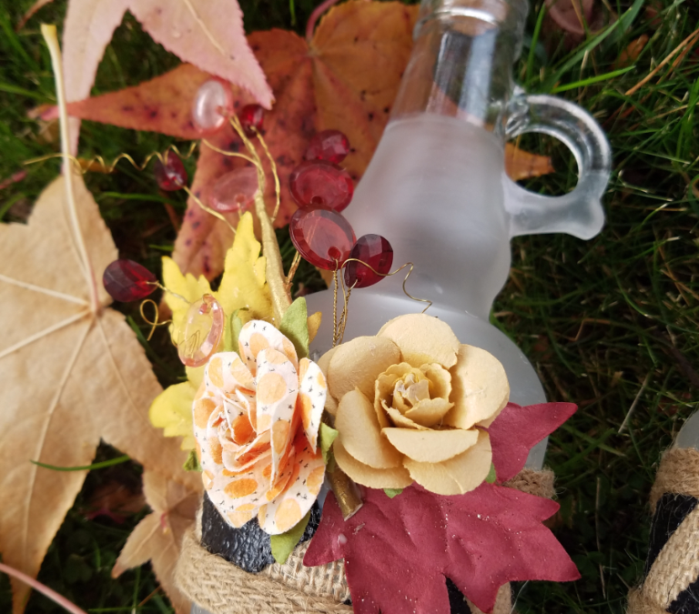 Fall Decor with etchall® Dip n' Etch