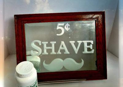 5¢ Shave Mirror