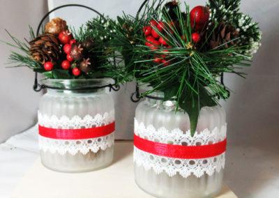 Dip 'N Etch Festive Vases