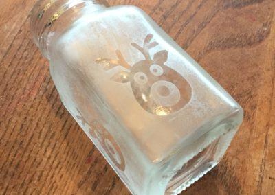 Magic Reindeer Food (Etched Sprinkle Shaker)