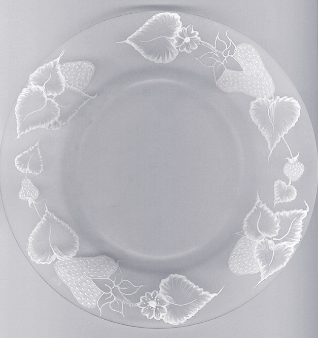 Dimensional Paste Plate