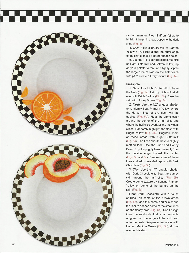 EtchedGlassfruitplatesPaintworks2014(6)  sc 1 st  Etchall & Etched Glass Fruit Plates for Paintworks Magazine - etchall®