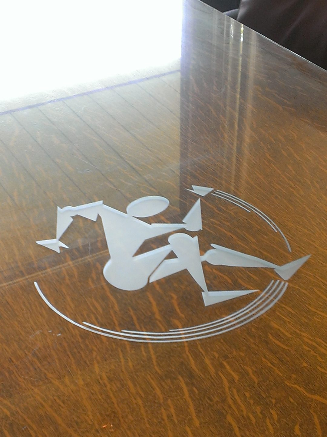 Etched Logo Tabletop