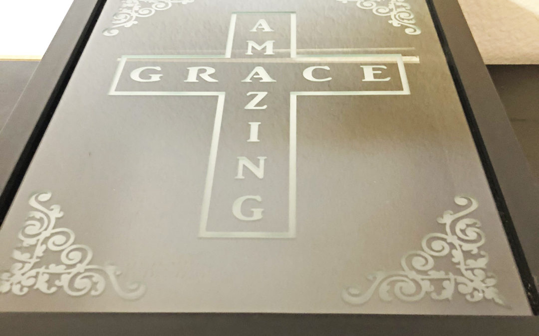 Amazing Grace Shadow Box
