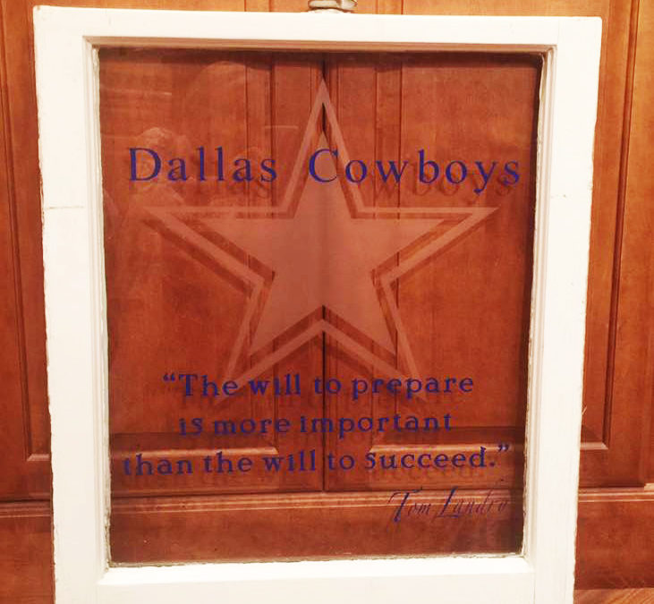 Dallas Cowboys Window