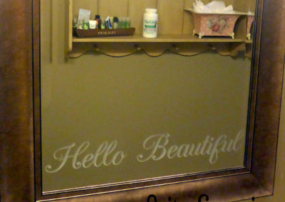 Hello Beautiful Mirror