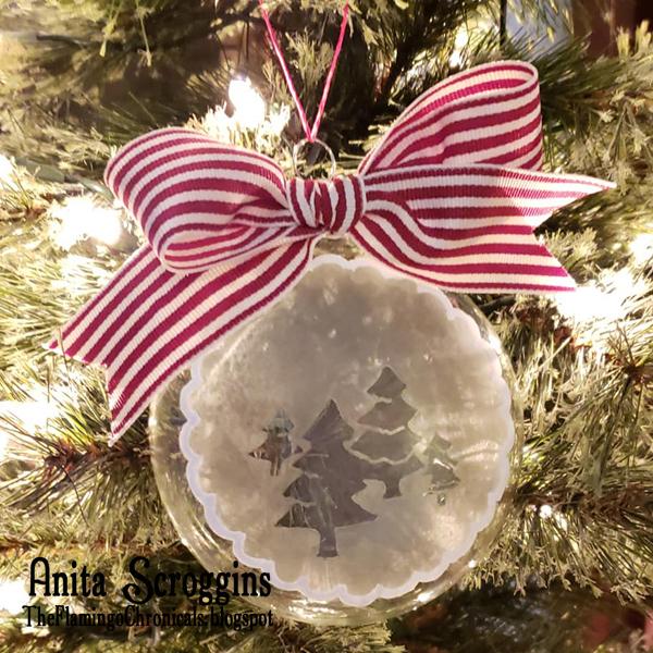 Glass Christmas Ornament