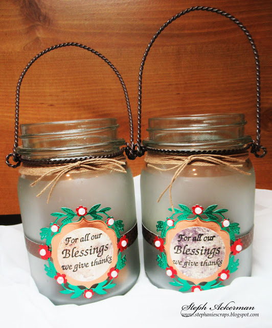 Etched Blessing Jars