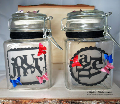 Etched Event Jars