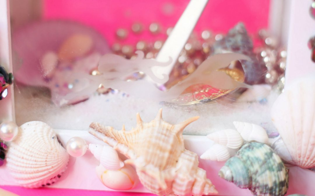 Mermaid Shadow Box